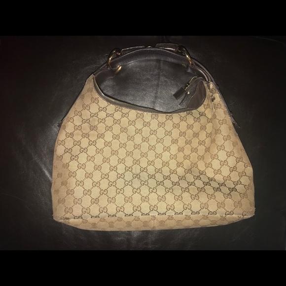 Gucci Handbags - Gucci Medium Canvas Horsebit